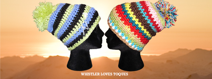 severed heads wearing toques is whistler fashion hotness