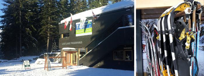 Whistler snowshoeing starts here