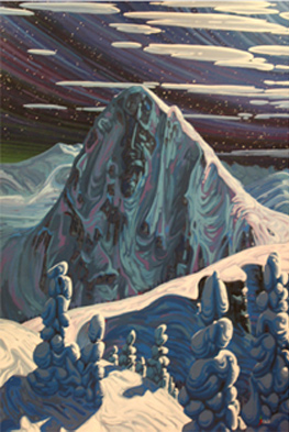 Fissile Mountain by Chili Thom