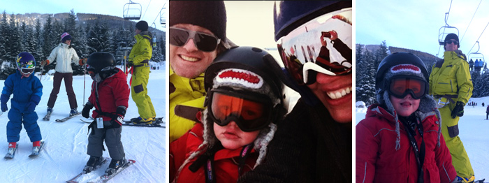 the family that skis together...
