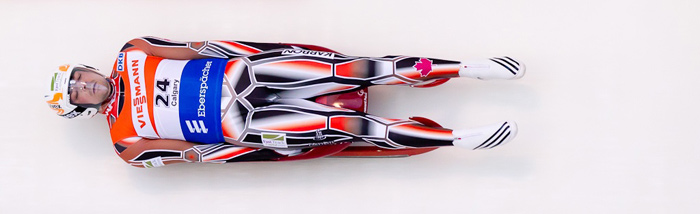 Luge is very fast.