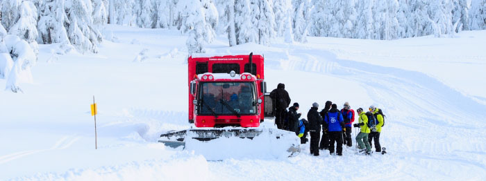 Whistler Snowcats, backcountry fun without the hiking