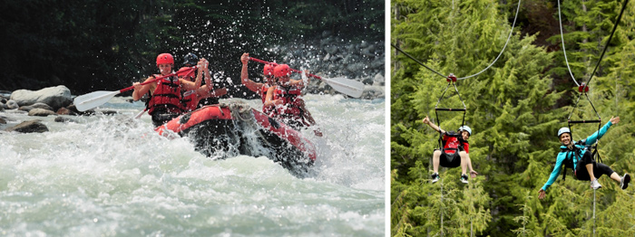 Whistler Rafting and Zipline