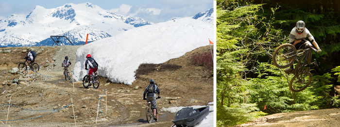 Ripping the Whistler Bike Park on Opening Day
