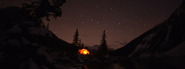 Whistler area camping