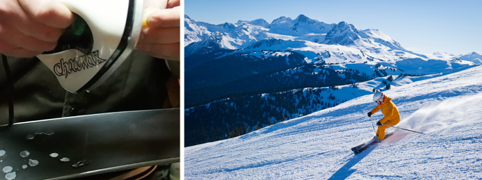 Whistler wax and ripping