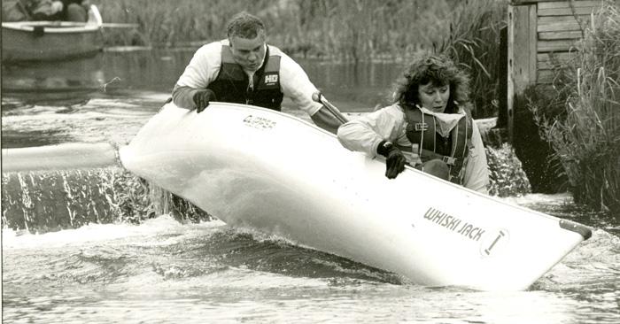 Whistler canoe antics