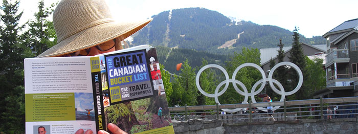 Whistler is a bucket list