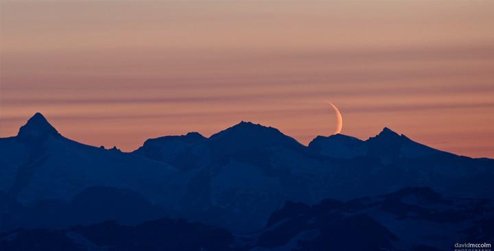 Whistler alpine moon