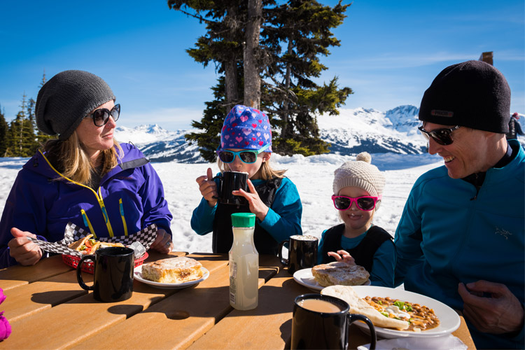 Spring Dining on Whistler Mountain
