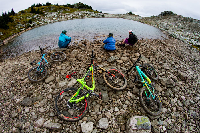 Break at Alpine Lake