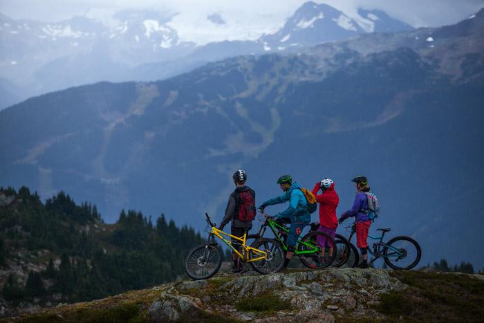 View from Sproatt Alpine Trail