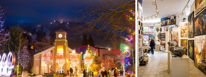 Holiday Lights in the Village