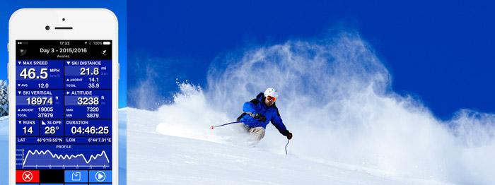 Ski Tracks App Screenshot
