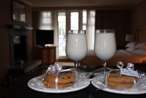 Milk and Cookies Platter
