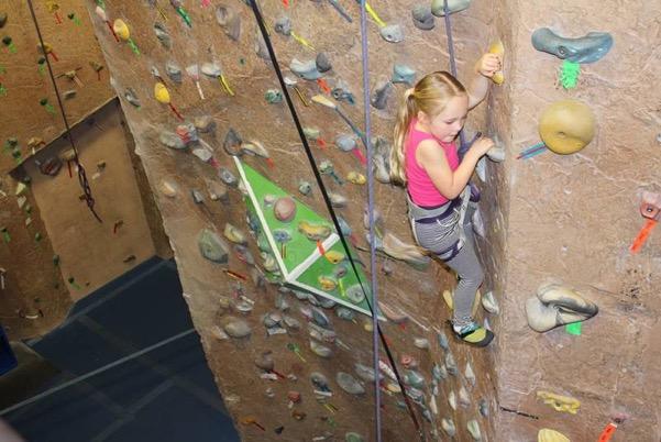 Indoor Rock Climbng
