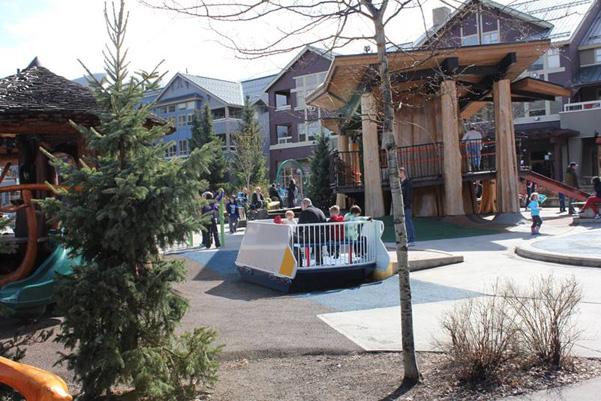 Fun at Olympic Plaza