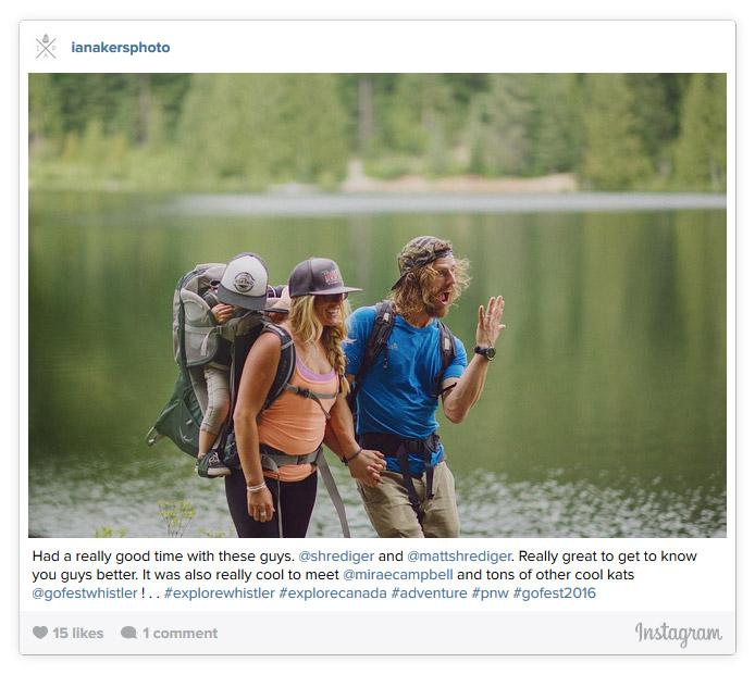 The Shredigers at Lost Lake