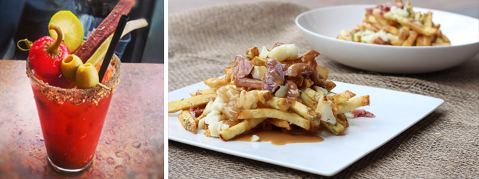Ceasar and Poutine