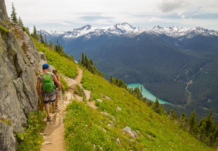 Hiking High Note Trail