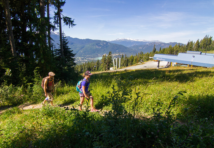 Whistler Blackcomb Hiking Trails