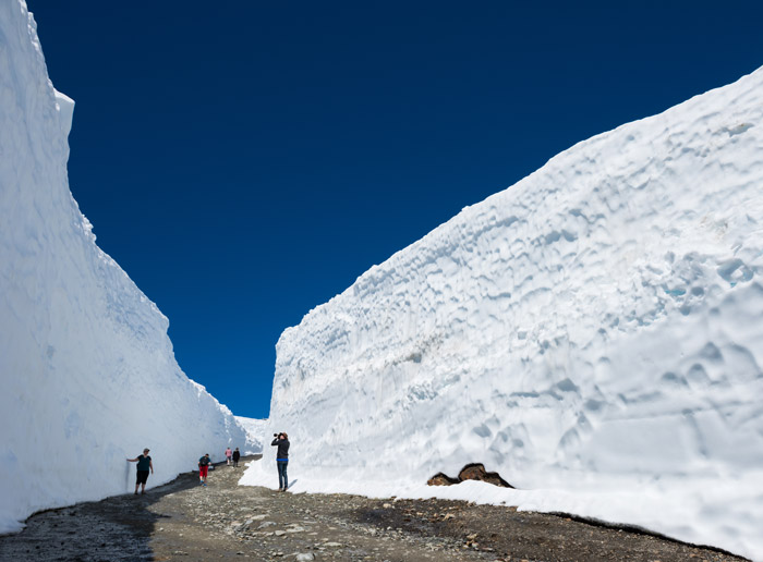 Gigantic Snow Walls