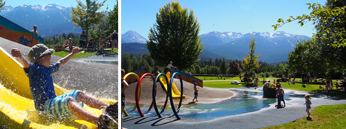 Whistler Water Park Features