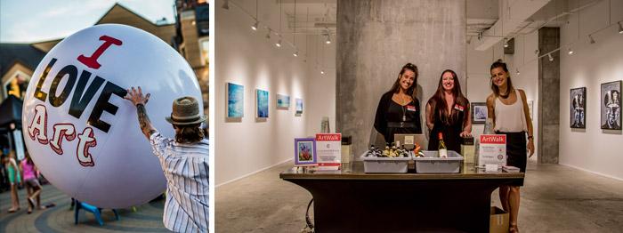 ArtWalk Opening Reception