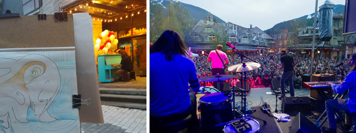 Art and music whistler