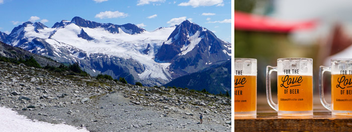 Blackcomb Meadows and Main Beer Festival Event