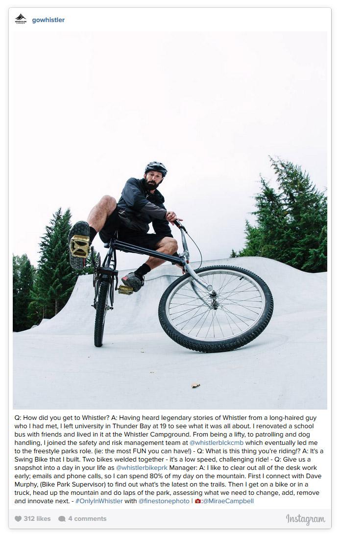 Brian Finestone's Custom Swing Bike