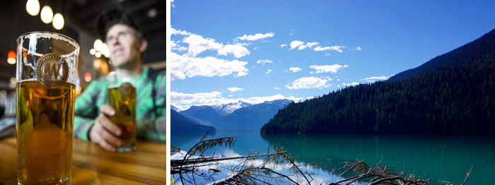 Cheakamus Lake and Whistler Brewing