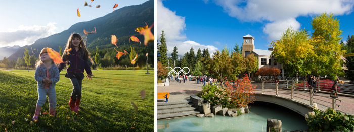 Fall Colours in Whistler