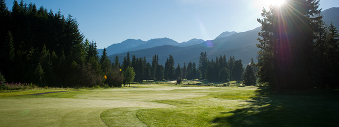 Whistler Golf Club Signature Hole 16