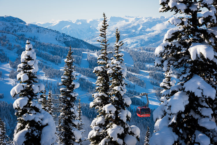 Peak 2 Peak in Whistler