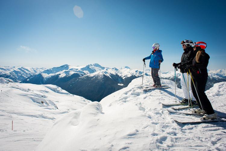 Spring ski lessons