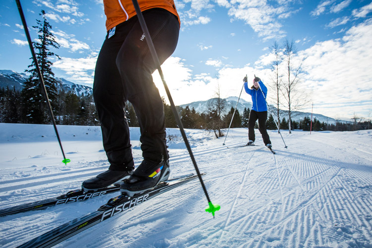 Cross country skiing at Nicklaus North