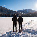 Snowshoeing at Lost Lake