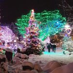 Christmas Lights in Whistler Village