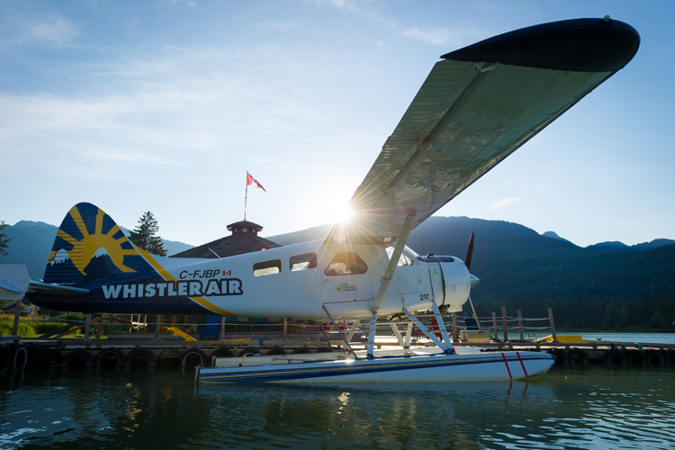 Whistler Air Seaplane on Green Lake