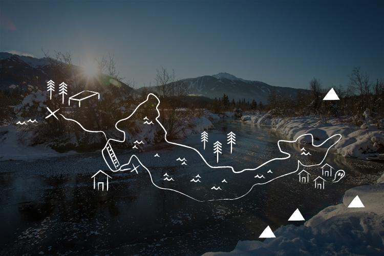 Alpine Walking Route