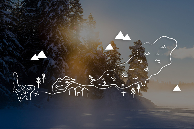 Whistler Lake Walk Route