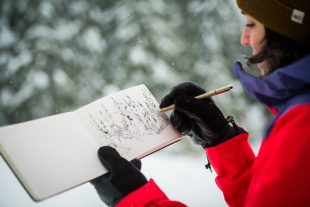 Art and adventure in the Whistler backcountry