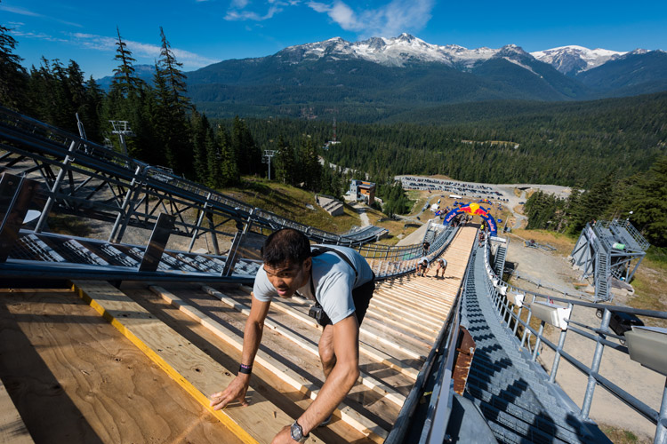 Red Bull 400 at the The Whistler Olympic Park Ski Jump