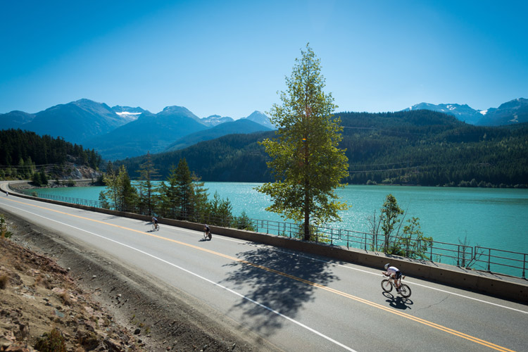 Ironman 70.3 cycle to the Callaghan Valley and Pemberton