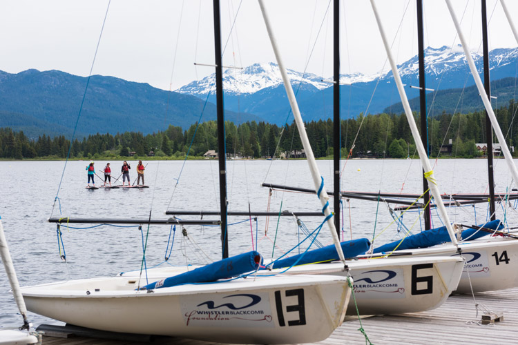 Sailing clinic and paddleboarding at Go Fest
