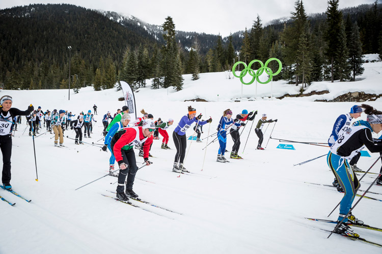 Sigge's P'ayakentsut cross country race at Whistler Olympic Park