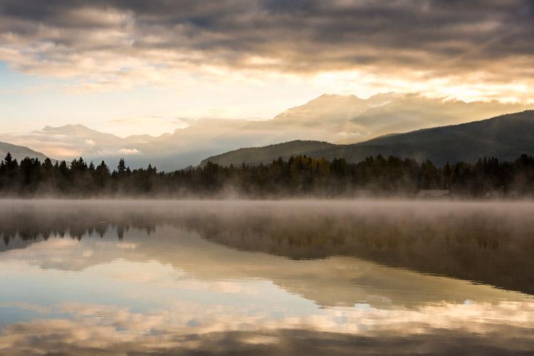 Alta Lake Sunset Whistler