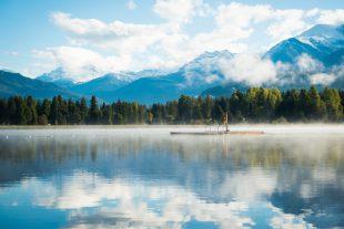 Alta Lake Whistler in Spring