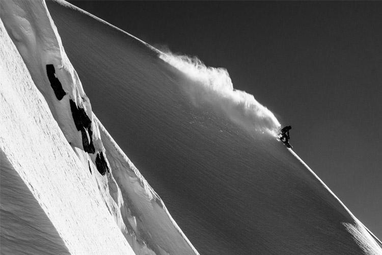 Snowboarder Robin Van Gyn by Erin Hogue